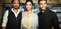 Deepika Padukone and Ranveer Singh grace Madaari screening
