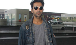 Rajkummar Rao snapped at the airport - Pictures