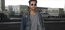 Rajkummar Rao snapped at the airport
