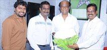 Superstar Rajinikanth Kabali Movie Dubbing Started