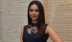 Rakul Preet Singh @ Dhruva Thanks Meet - Pictures