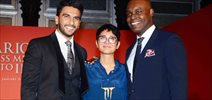 Ranveer SIngh And Kiran Rao At Filmcity & Toronto Canada Mou Signing Event