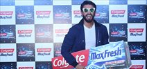 Ranveer Singh unveils the all new Colgate Maxfresh
