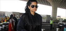 Rhea Kapoor snapped at the airport
