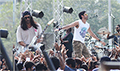 Farhan Akhtar, Arjun Rampal & Purab Kohli shoot a song for Rock On!! 2
