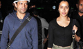 Farhan and Shraddha return from Shillong shoot of rock on 2