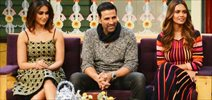 Promotion of the film 'Rustom' on the sets of The Kapil Sharma Show