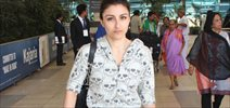 Soha Ali Khan Snapped at Domestic Airport