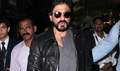 Shah Rukh Khan Returns From Delhi Fan Anthem Launch