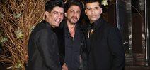 Shah Rukh Khan and Karan Johar grace Manish Malhotra's 50th birthday bash hosted by Karan Johar