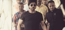 Shah Rukh Khan snapped on the sets of Raees