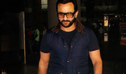 Saif Ali Khan and other celebs snapped at the airport - Pictures