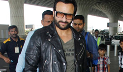 Saif Ali Khan snapped at the airport - Pictures
