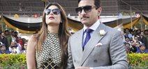 Saif & Kareena Khan Grace Kingfisher Ultra Indian Derby 2016