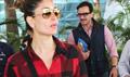 Saif Ali Khan  & Kareena Kapoor Khan Snapped The Airport
