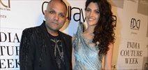 Saiyami Kher walks for Gaurav Gupta at the Couture week
