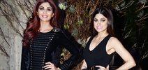 Shamita Shetty and Shilpa Shetty grace Manish Malhotra's 50th birthday bash hosted by Karan Johar