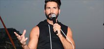 Shahid Kapoor at the launch of Skult