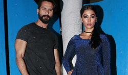 Shahid Kapoor and Pooja Hegde at GQ nights - Pictures