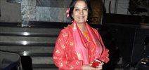Shabana Snapped At Manish Malhotra Store
