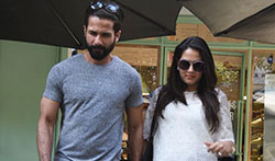 Shahid Kapoor and Mira snapped post lunch at The Kitchen Garden - Pictures