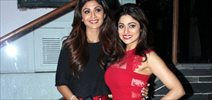 Shilpa Shetty At Shamita Shetty Birthday Bash In Juhu