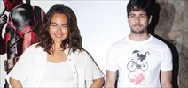 SIdharth & Sonakshi Watch Hollywood Thriller Deadpool