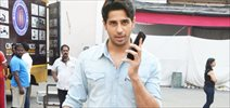 Sidharth Malhotra snapped post Reload shoot