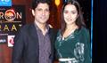 Shraddha Kapoor and Farhan Akhtar on the sets of Yaadon Ki Baaraat