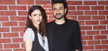 Soha Ali Khan and Vir Das at 31st october media meet