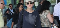 Sneha Ullal Snapped at Domestic Airport