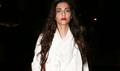 Sonam Kapoor snapped at the Mumbai airport