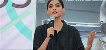 Sonam Kapoor Unveils The Neerja Bhanot Plaque At Xaviers Institute