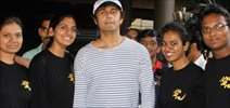 Sonu Nigam snapped at the airport