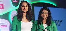 Sonakhi Sinha and Sakshi Malik grace #LikeAGirl whisper event