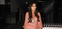Sonam Kapoor and sister Riya kapoor snapped post dinner at Hakassan