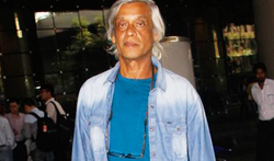 Sudhir Mishra snapped at the airport - Pictures