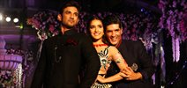 Sushant Singh Rajput and Shraddha Kapoor walk for Manish Malhotra at LFW 2016
