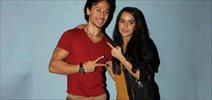 Tiger and Shraddha Kapoor visits theatre to meet Baaghi patrons