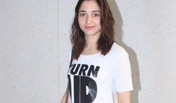 Tamannaah Bhatia snapped post rehersals of the Screen awards - Pictures