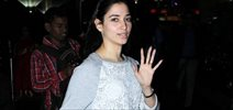 Tamannaah Snapped On Arrival At Domestic Airport