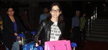 Tamannaah snapped at the airport as she lands back in Mumbai
