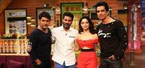 The Kapil Sharma Show - Prabhu Deva, Tamannaah and Sonu Sood at 'Tutak Tutak Tutiya' promotions