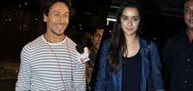Tiger and Shraddha Kapoor return from Baaghi promotions in Delhi and Jaipur