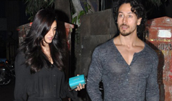 Tiger Shroff & Disha Patani snapped in Bandra - Pictures
