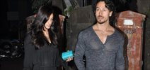 Tiger Shroff & Disha Patani snapped in Bandra