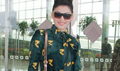 Urvashi snapped at the airport
