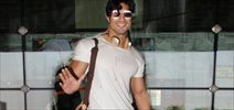 Vidyut Jammwal snapped at the airport