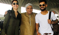 Virat Kohli and Anushka Sharma snapped at the airport