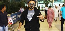 Vir Das Snapped At Domestic Airport